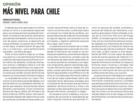 MÁS NIVEL PARA CHILE