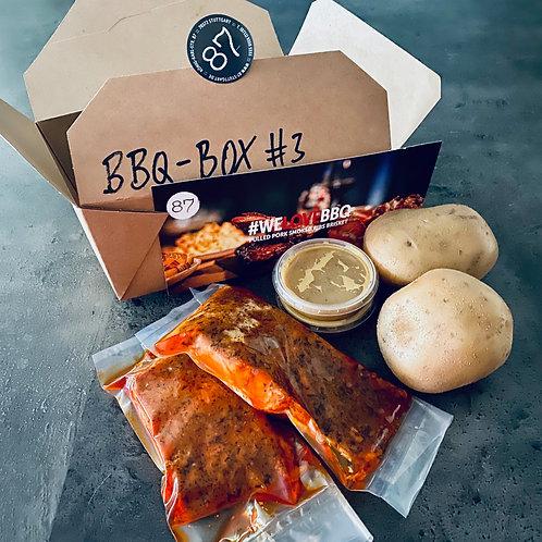 BBQ-BOX #4 SMOKED SALMON (Lachsfilet)