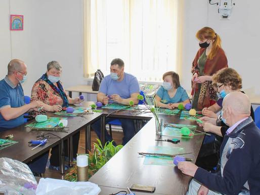 Мастер класс по изготовлению декоративных веточек вербы