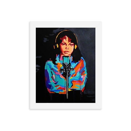 "Madeline Doornaert (#019) - ""Muddy Water"" framed artwork by Eric Faraci"