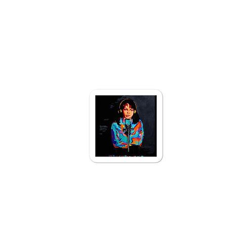 "Madeline Doornaert (#015) - ""Muddy Water"" Bubble-free stickers"