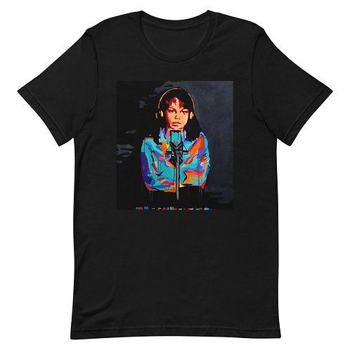 "Madeline Doornaert (#017) - ""Muddy Water"" Black Short-Sleeve Unisex T-Shirt"