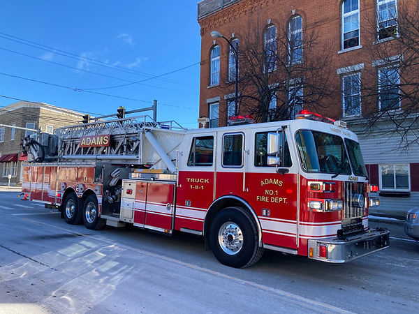 GFIRST RUN WITH NEW LADDER 3-2-2021  CLE