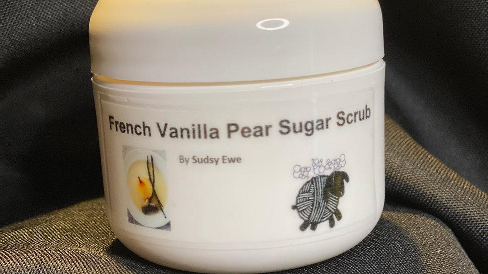 French Vanilla Pear Sugar Scrub