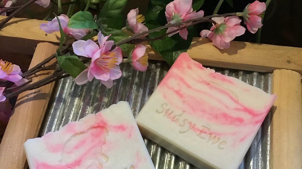 Japanese Cherry Blossom Goat Milk Soap