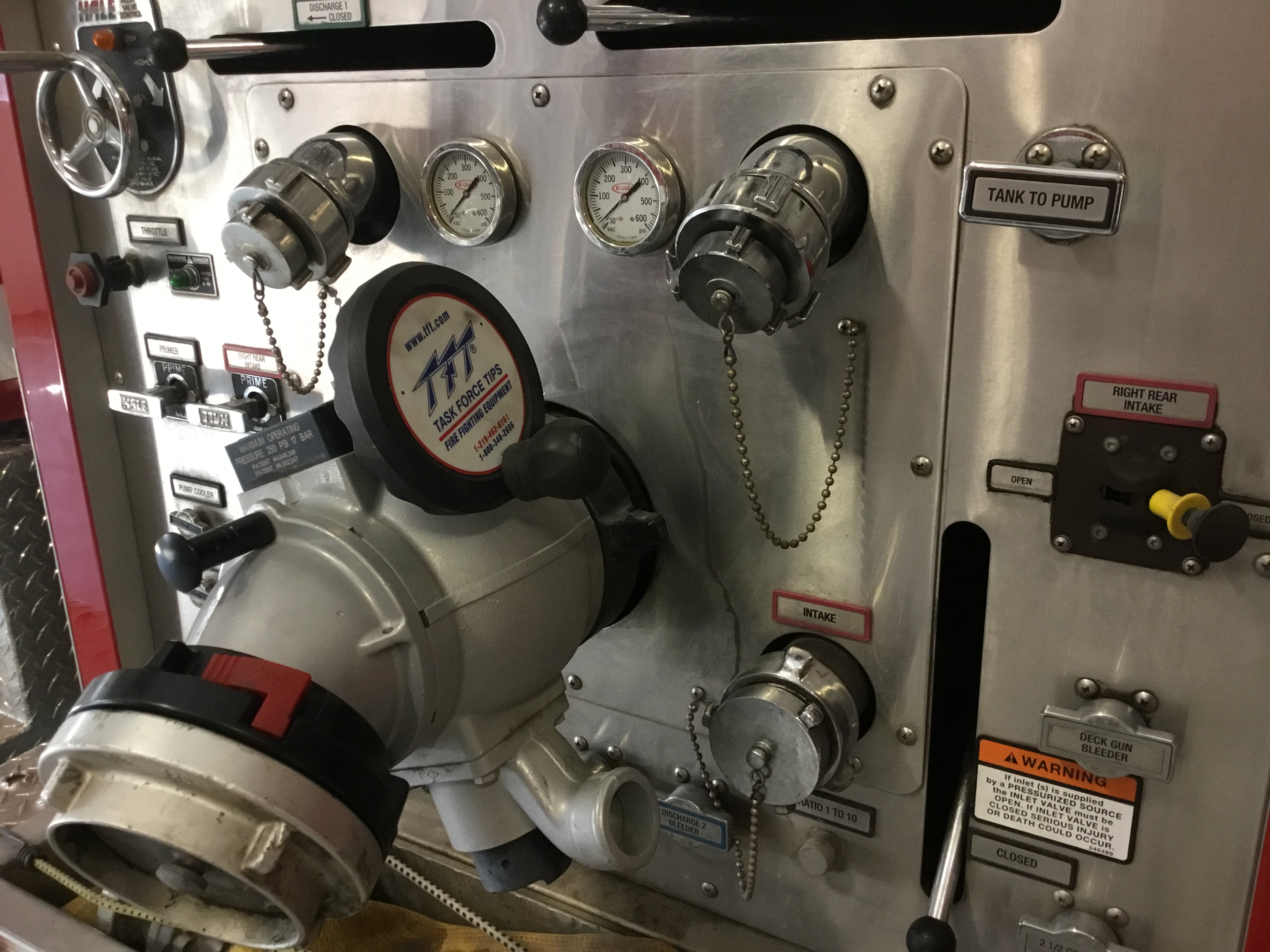 pumper panel
