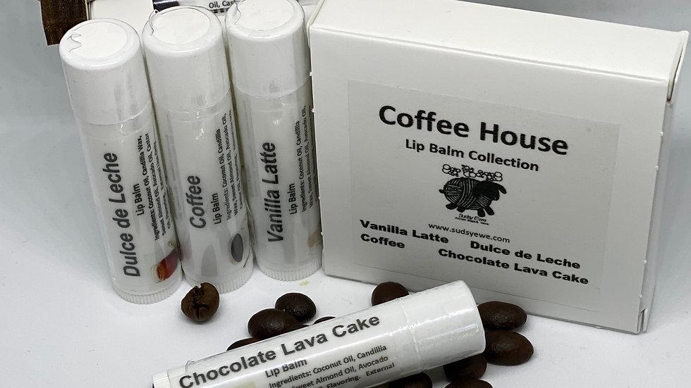 Coffee House Lip Balm Set