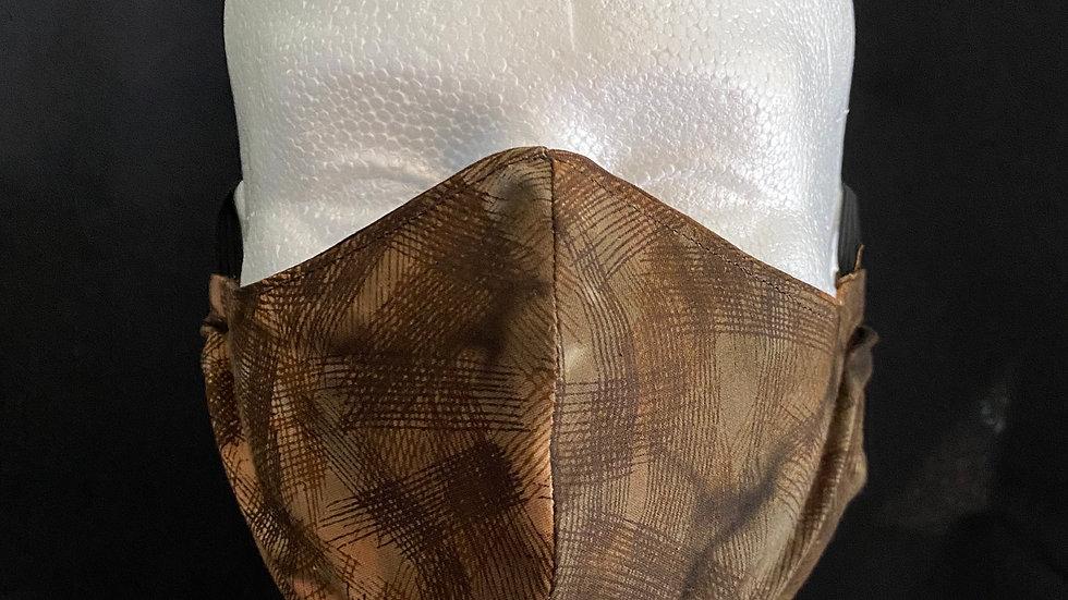 Face Mask Brown Batik