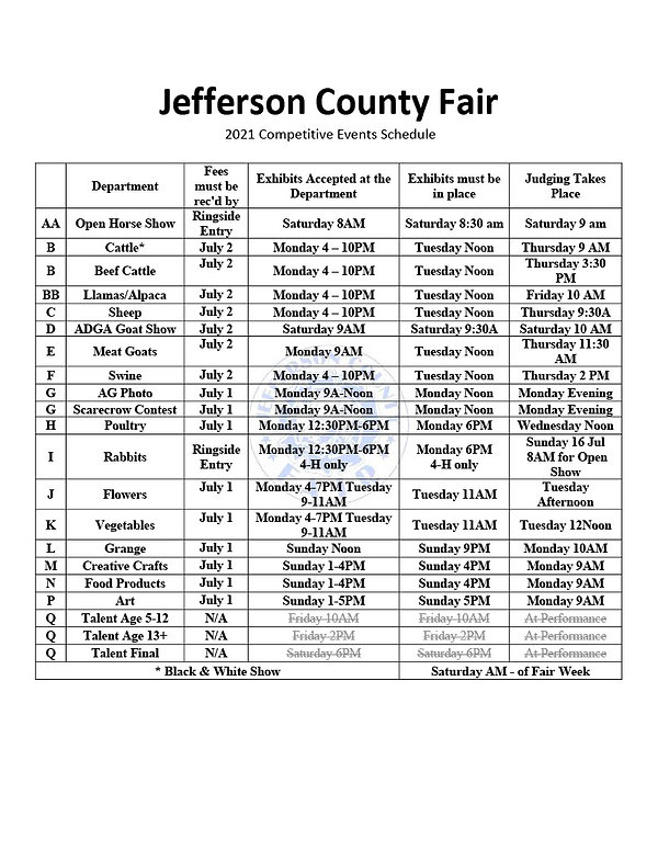 2021 Competitive Events Schedule1024_1.j