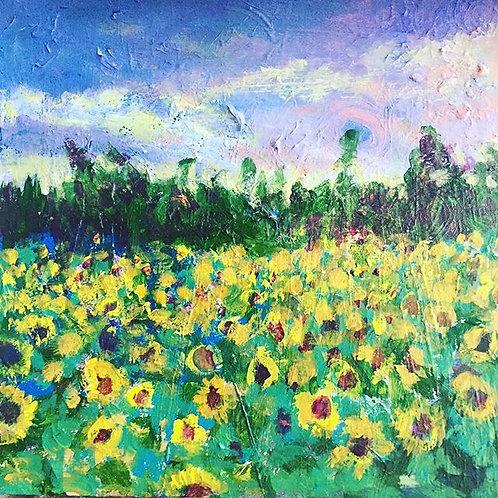 Sunflowers for Rose-Ann