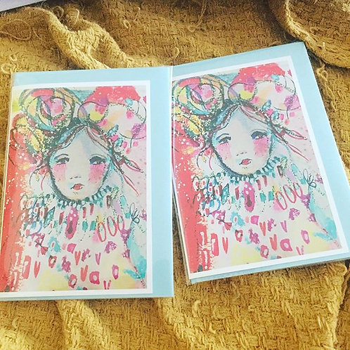 """A6 """"Valentine"""" card"""