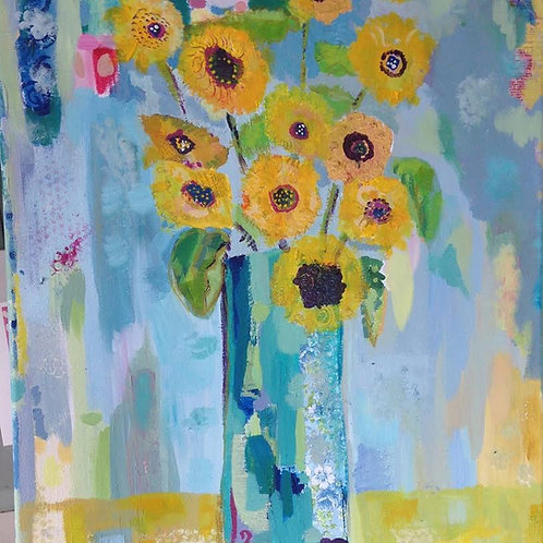 """Sunflowers"" Notebook"