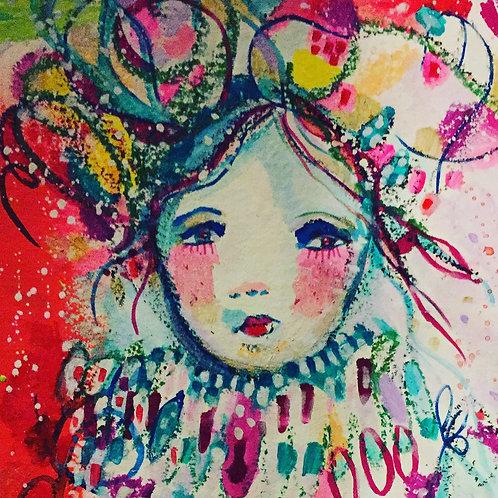 """""""Valentine"""" A3 Framed Print"""