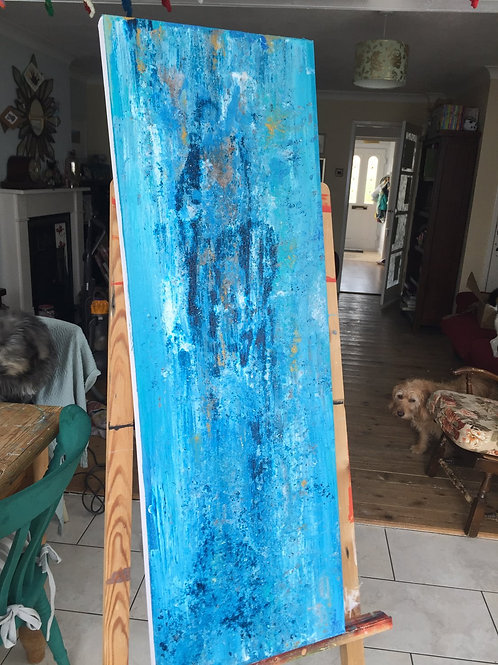 Original canvas - Bahia Azul