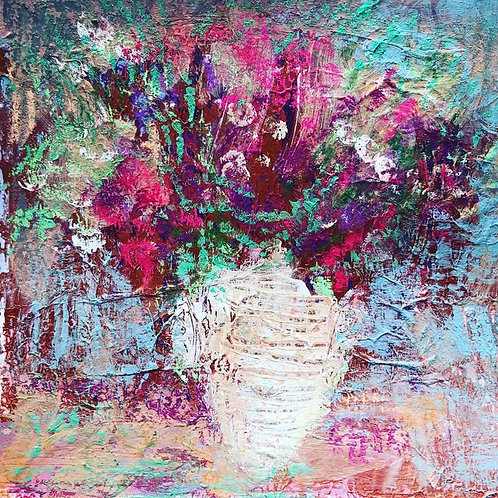 Pastel Petals I & II