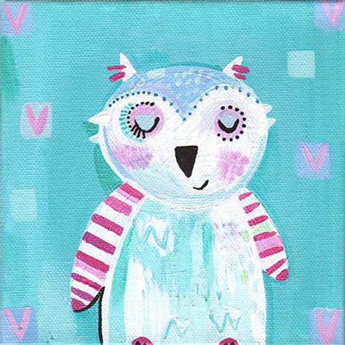 """Minty the owl"""