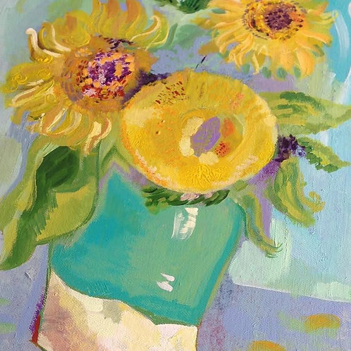 """Thankyou Vincent"" Art Card"