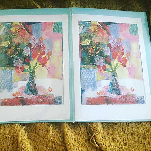 """A6 """"Waiting for Spring"""" card"""