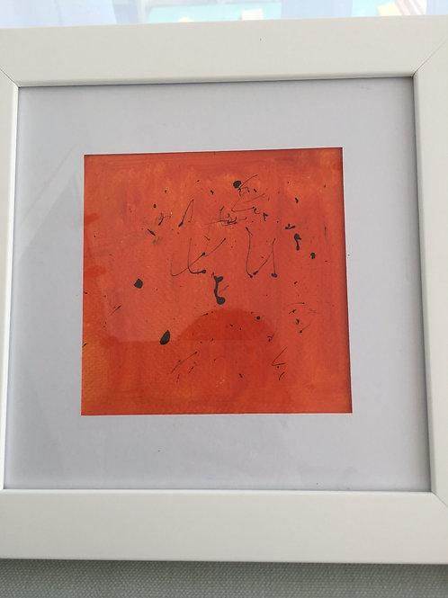 "Abstract original - ""Naranja"" - Palma, Majorca"
