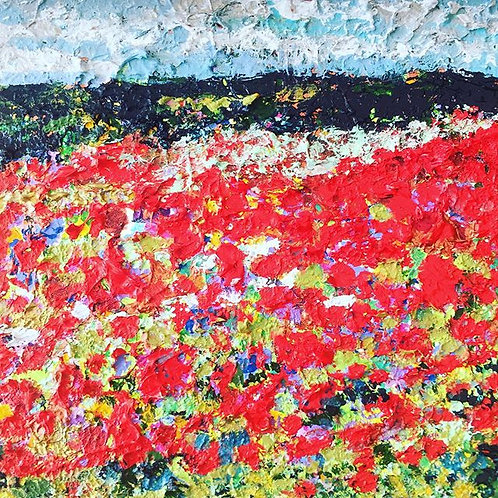 Boxley Hill Poppies