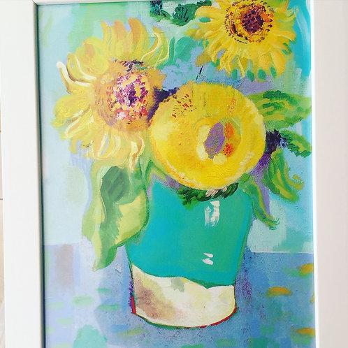 """Thank you Vincent"" A3 Framed Print"