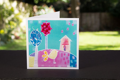"Square ""Hello Lemon Drop"" card"