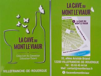 """Nouveau partenariat commerçant """" La cave du mont le viaur"""""""