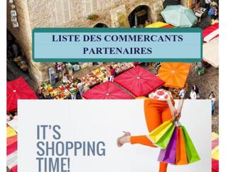 liste des Commerçants