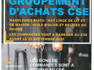 GROUPEMENT D'ACHATS CSE