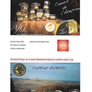 Nouveau Partenaire CSE CARTE DES COMMERCANTS Luc la Primaube