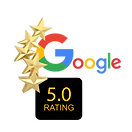 Google 5 Star Rating Logo
