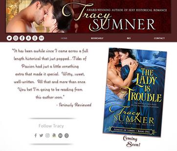 Tracy Sumner Romance Novelist