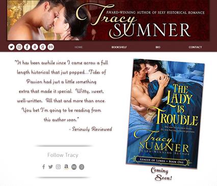 Tracy Sumner Romance Novalist