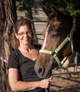 Picture of Karen Fergason, Founder of RISE Therapeutic Equestrian Center
