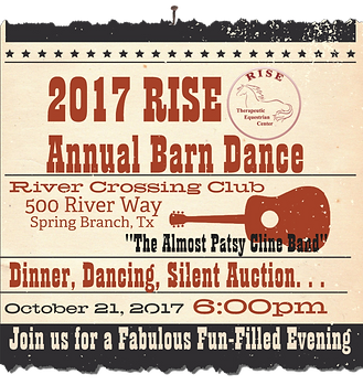 Annual Barn Dance Poster Image