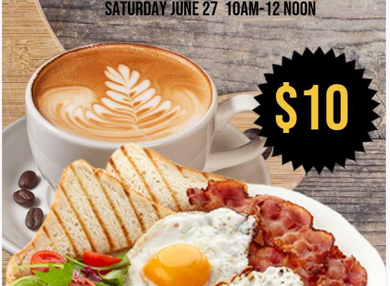 13th Annual Prayer Breakfast                         Saturday June 27, 2020 10am-12pm....
