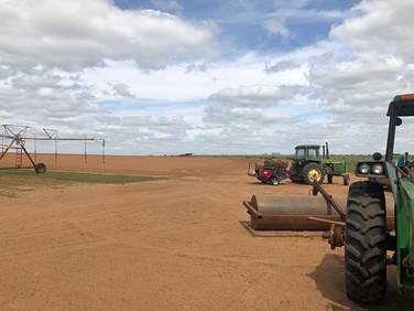 Red Dirt Turf  Field Preparations