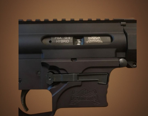 AR-9, 9mm Pistol