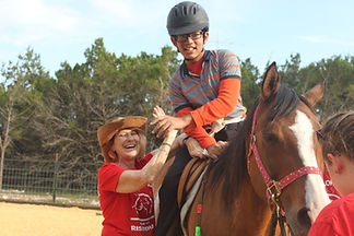 Picture of Boyon Horse High Fiving Instructor