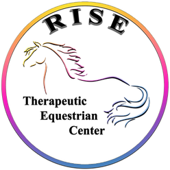 RISE Therapeutic Equestrian Center Logo