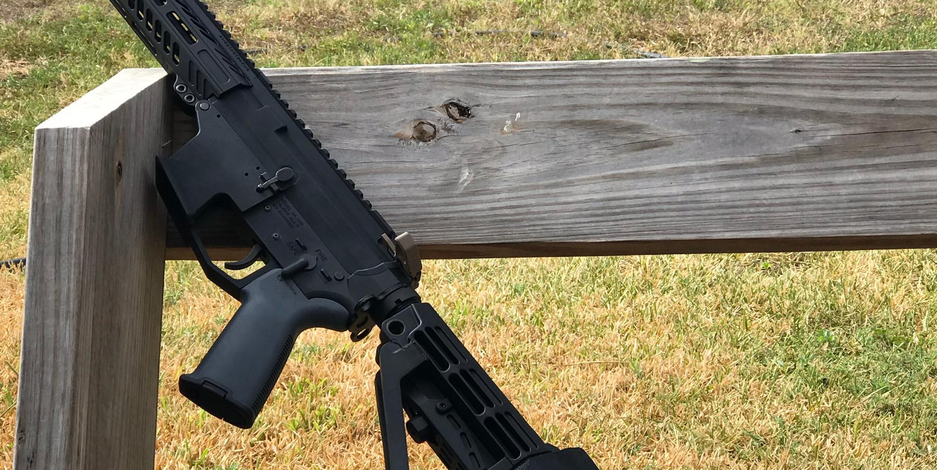 AR-15 .45 ACP PISTOL