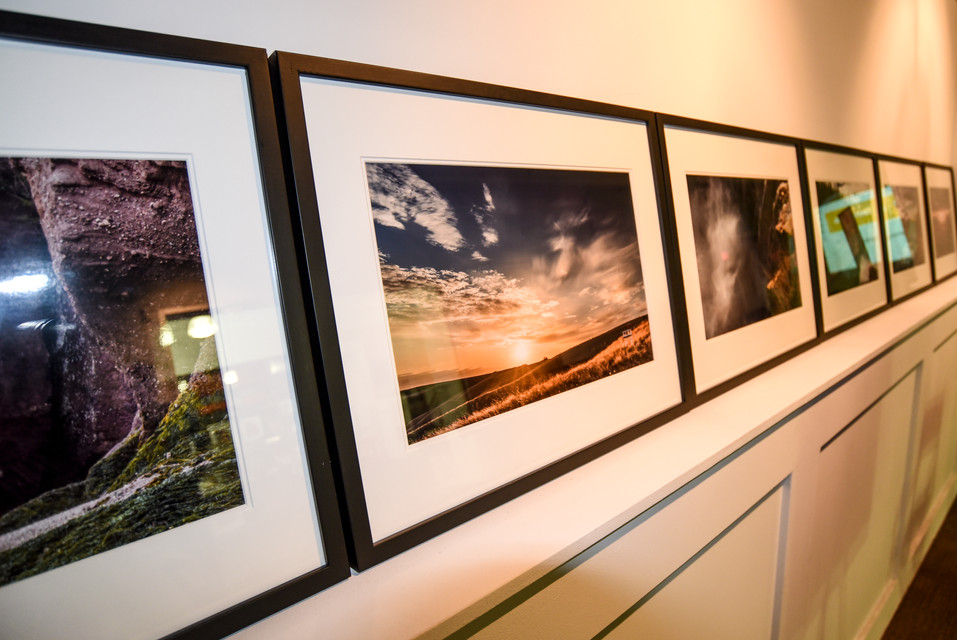 Archival pigment print on satin photographic paper facemounted framed behind glass