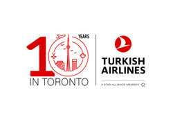 Turkish Airlines 10 years in Canada