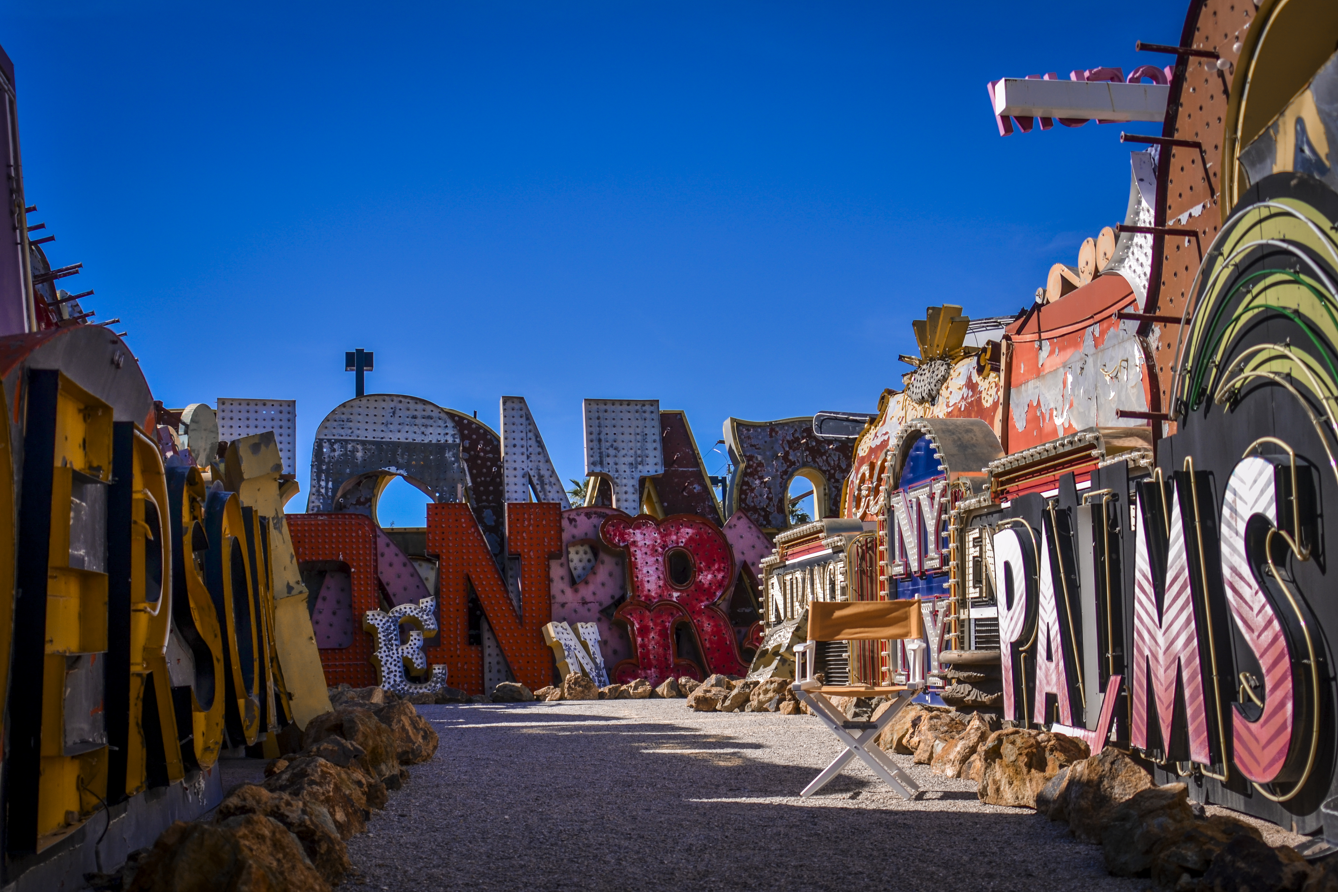Take Your Seat Neon Museum