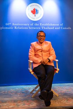 Ambassador Vipattipumiprates Take Your Seat
