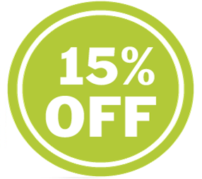 15% OFF. Existing Clients Only.