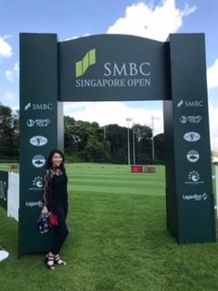 シンガポールのセントーサゴルフクラブを視察いたしました。
