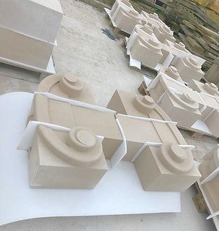 Semi Dry Cast Stone