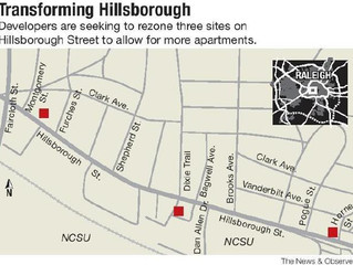 Blue Sky Services Development Leads Phase 3 Of Hillsborough Street Rezoning