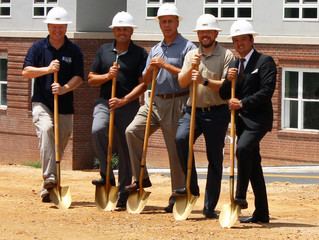 Raleigh NC Community Leaders Celebrate Ground Breaking Of New Mixed Use Apartment Community